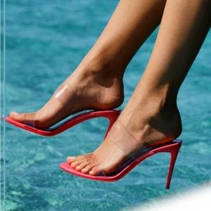 Christian Louboutin Just Nothing 85 Heeled Sandals